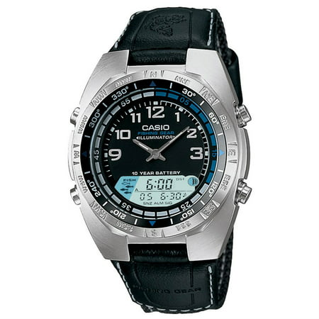Casio Men's Forester Fishing timer Watch Quartz Mineral Crystal AMW-700B-1AV
