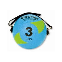 Power Yoga Weight Ball in Teal and Green