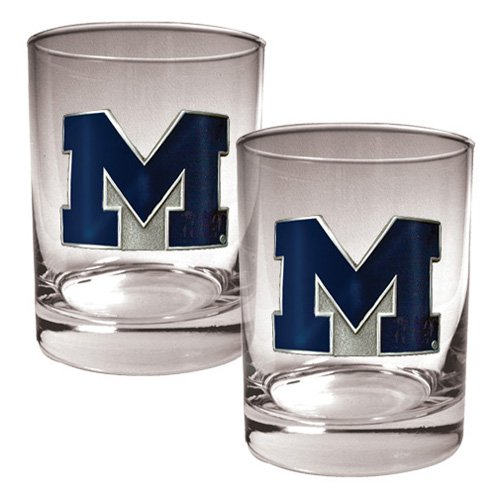 Great American NCAA Rocks Glass Set
