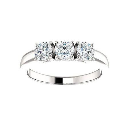 f1c9b45d9169 Pompeii3 - 3 4ct 3-Stone Diamond Engagement Ring 14k White