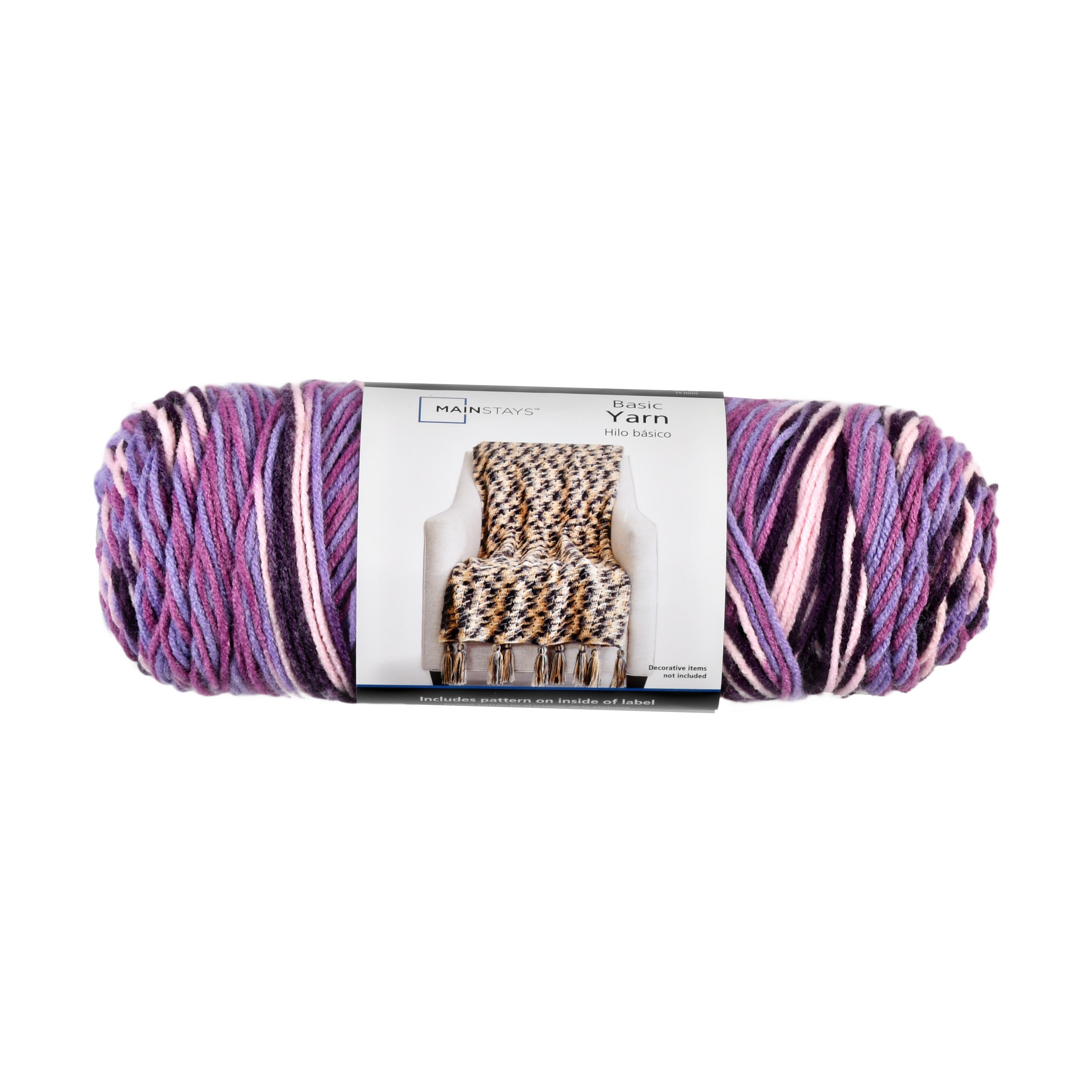 """Smoke Free Home Lion Brand /""""Unique/"""" Yarn in Passion Fruit New"""