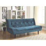 Coaster Company Royal Blue Sofa Bed Walmart Com