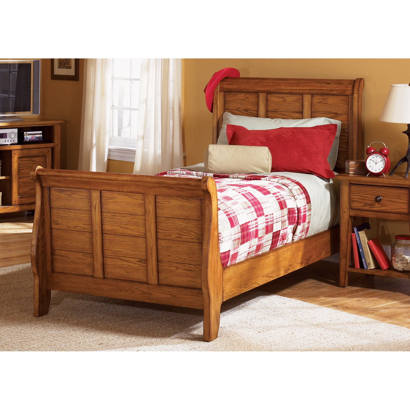 Liberty Furniture Grandpas Cabin Sleigh Bed