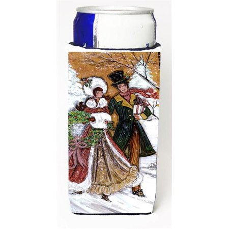 - Couple Skating Winter Scene Michelob Ultra s For Slim Cans - 12 oz.