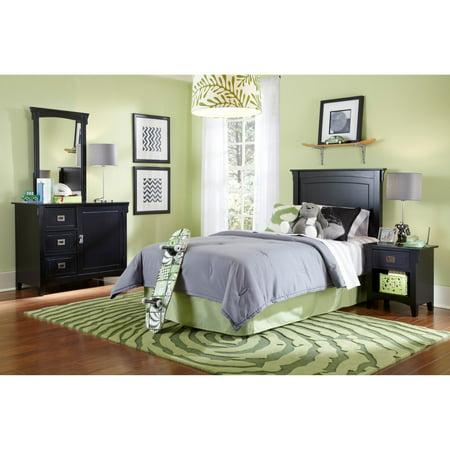 Powell Mission Black Twin Bedroom in a Box - Walmart.com