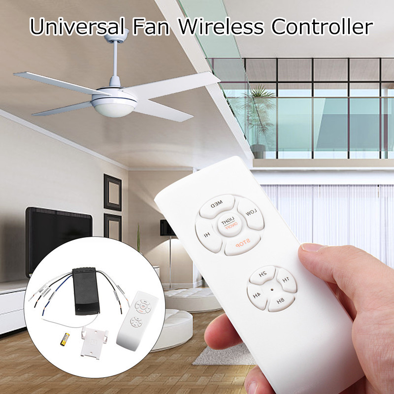 Universal Lamp Kit And Timing Wireless Remote Control For