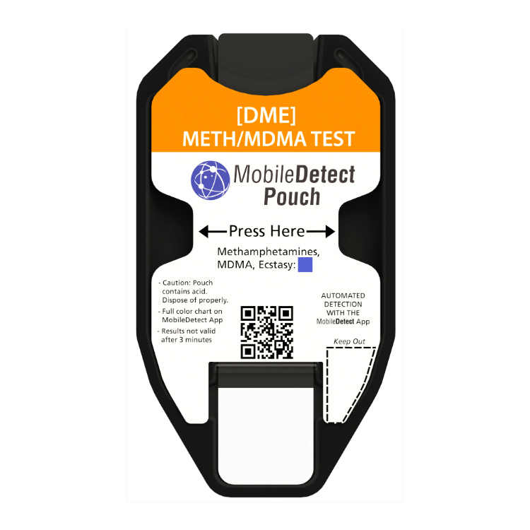 Meth Methamphetamine Surface Drug Detection Kit with Mobile APP for easy results and reports