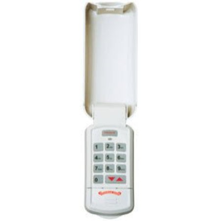 overhead door - wireless garage door opener keypad - weather-resistant - okp-bx - white