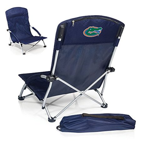 NCAA Florida Gators Tranquility Portable Folding Beach Chair, Navy - image 1 of 2
