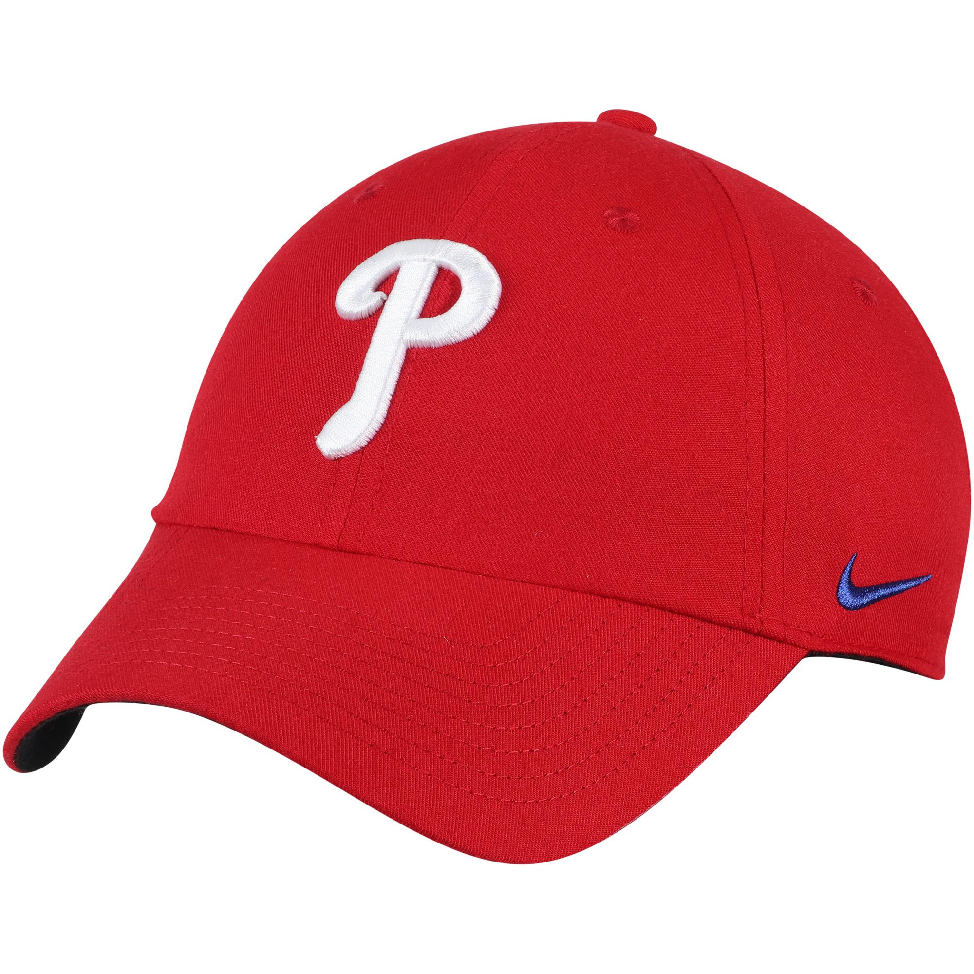 Philadelphia Phillies Nike Heritage 86 Stadium Performance Adjustable Hat - Red - OSFA