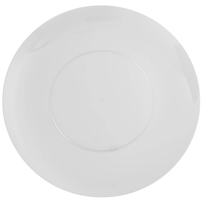 Trendables 10  Disposable Plastic Dinner Plates - 40 Pack - Heavy Duty Premium Plastic Disposable Dinnerware - Wedding u0026 Party Fancy Dinner Plates - Clear  sc 1 st  Walmart & Trendables 10