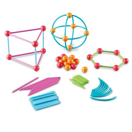 Geometric Shapes Building Set, Help children gain a deeper understanding of  the basics of geometry with this geometric shape building set By Learning