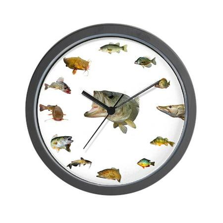 CafePress - Fish Clock - Unique Decorative 10