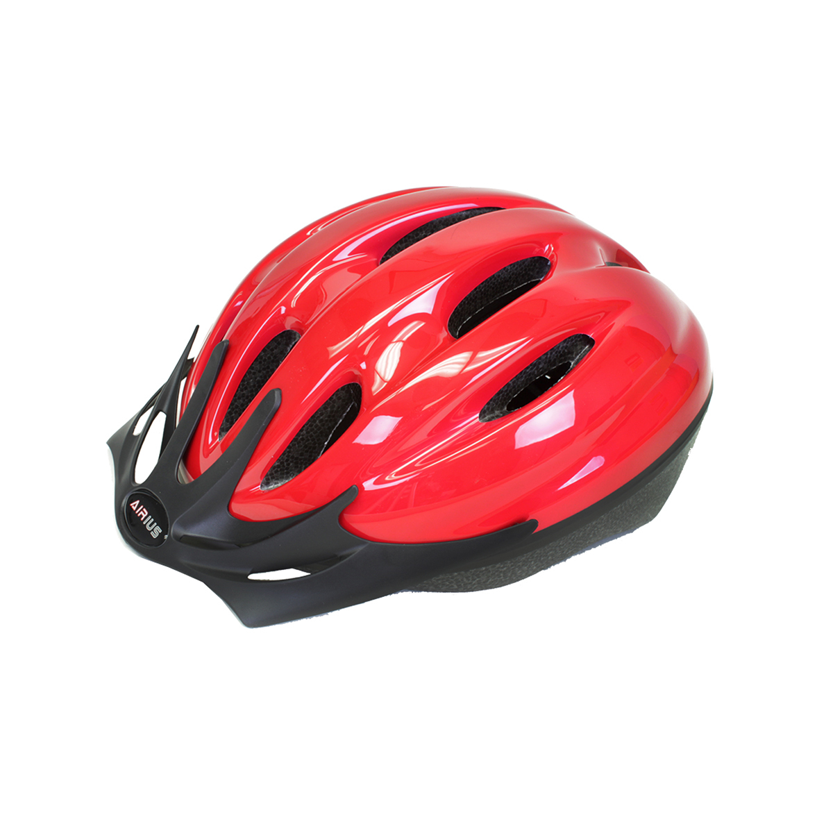 Airius Helmet V10T Md-Large Red