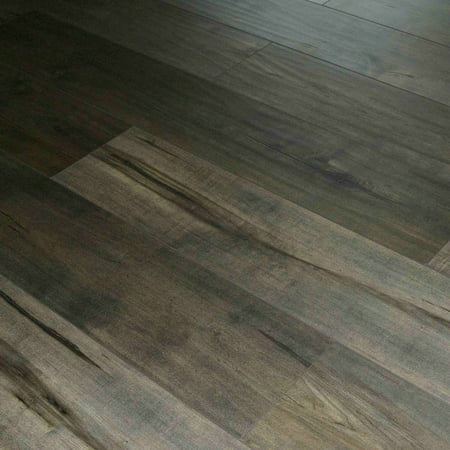Dekorman Roasted Brown Birch 12 mm Thick x 7.72 in. Wide x 48 in. Length Click-Locking Laminate Flooring (17.943 sq. ft. /