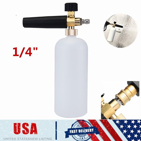 1L Foam Cannon Bottle Lance For Pressure Washer Gun Jet Car Wash Soap Spray