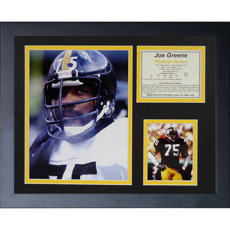 "Legends Never Die ""Joe Greene"" Framed Photo Collage, 11"" x 14"""