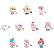 Sanrio Hello Kitty Double Dippers Collectible Figures (2-in / 5.1-cm) with Hat and Dessert Accessories, Surprise Blind Pack