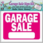 Hy-Ko Garage Sale Sign Kit
