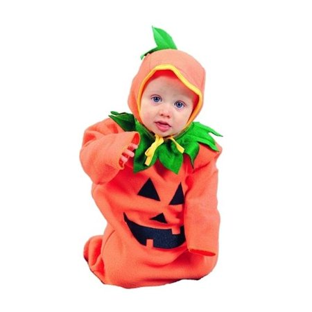 Pumpkin Bunting Costume - Size 0-6 Months for $<!---->