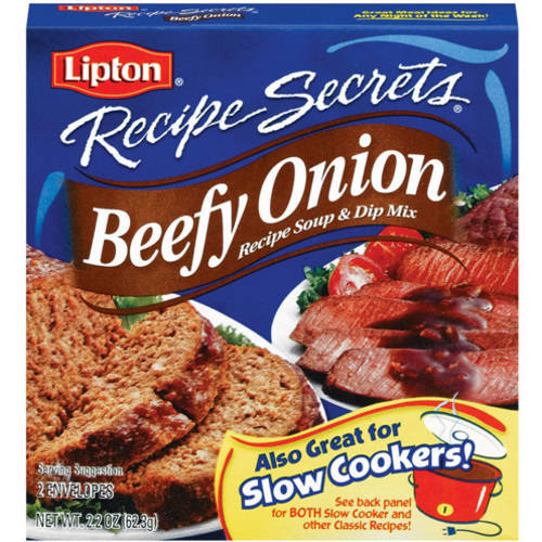 Lipton Soup and Dip Mix Beefy Onion 2.2 oz