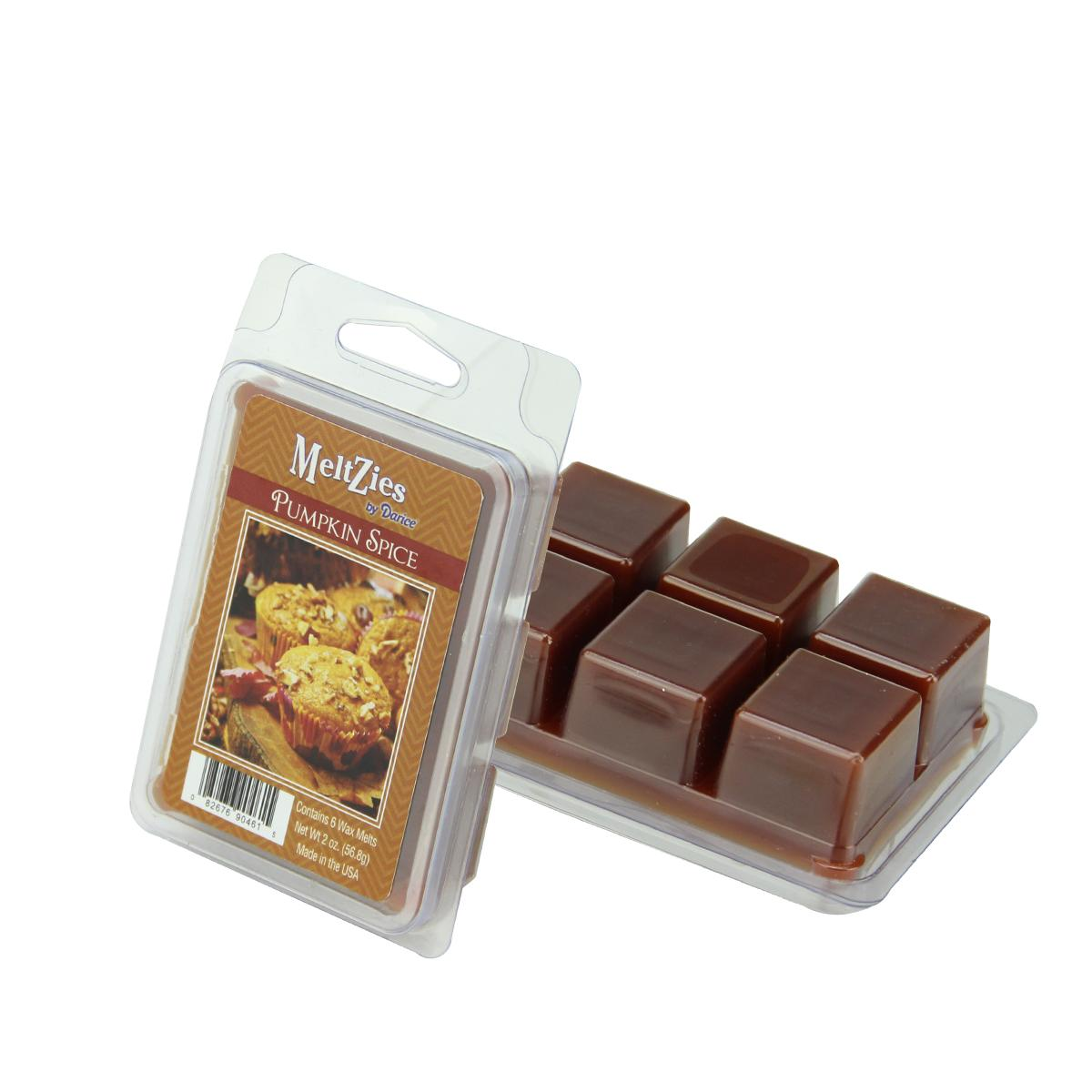 Meltzies Pumpkin Spice Scented Wax Cube Melts - 2 oz.