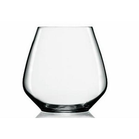 Luigi Bormioli Atelier  Pinot Noir Stemless 20oz , Set of