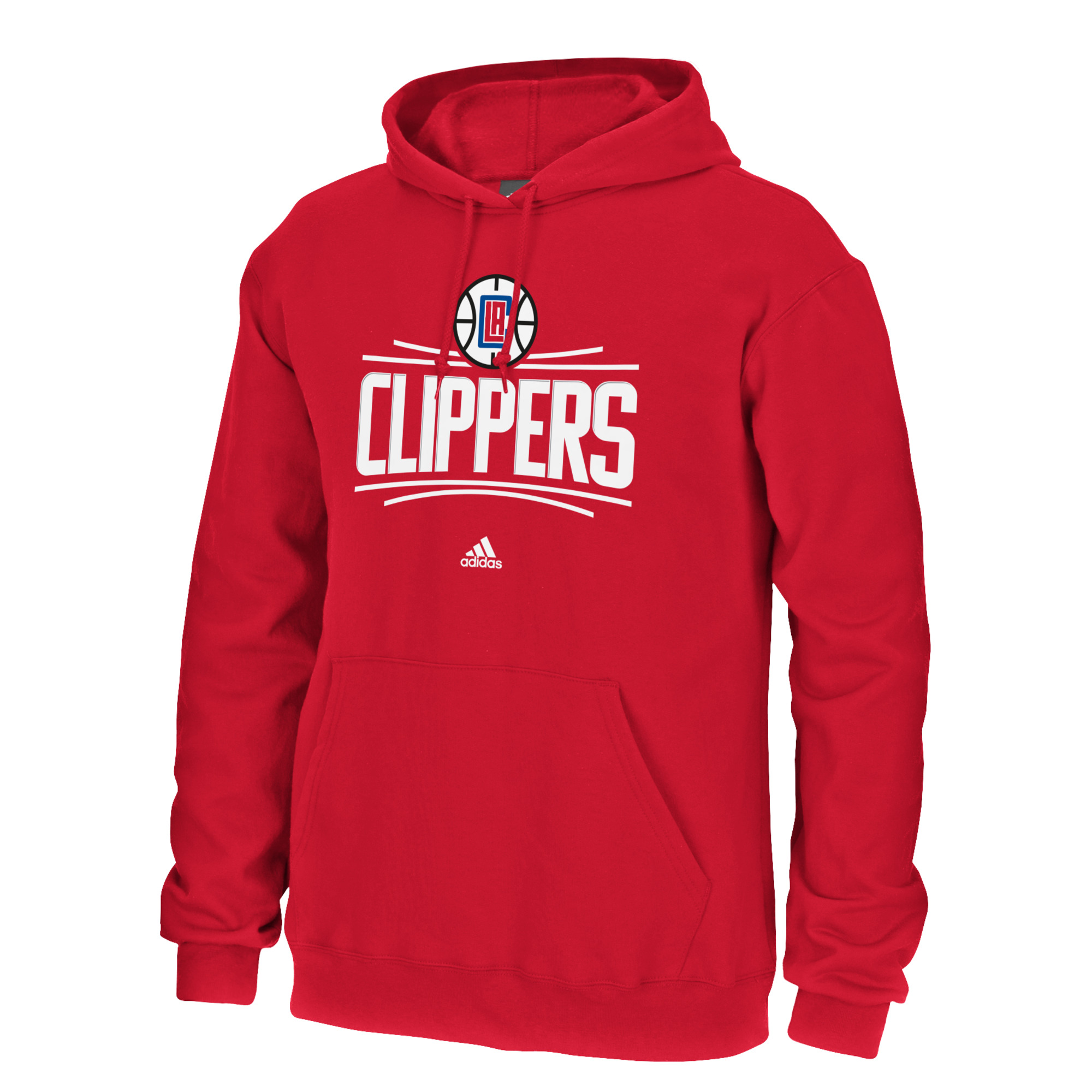 Los Angeles Clippers NBA  Hooded Sweatshirt - Red