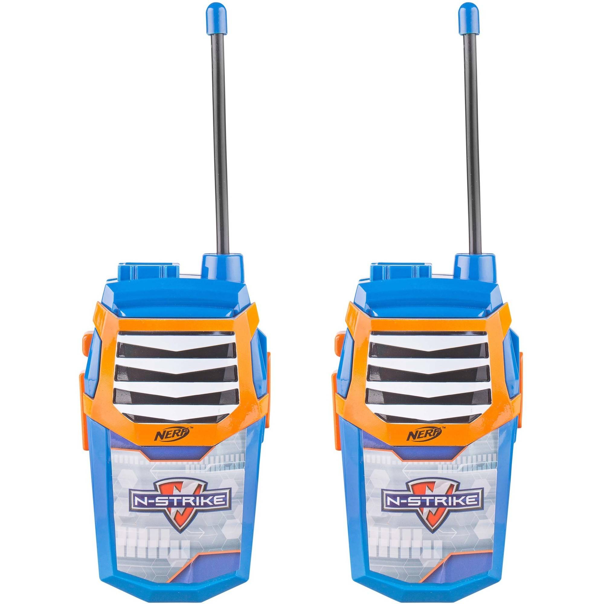 Nerf WT3-01056 Night Action 2-in-1 Walkie Talkies with Built In Flashlight