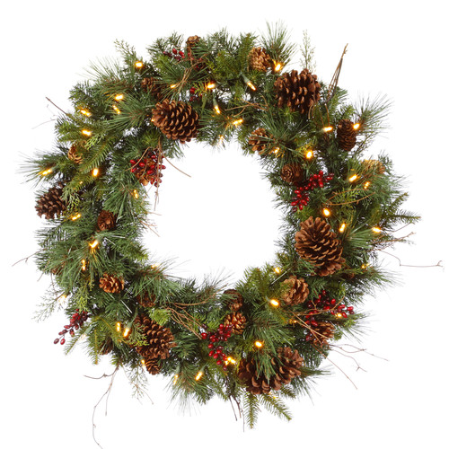 The Holiday Aisle Cibola Mixed Berry Wreath
