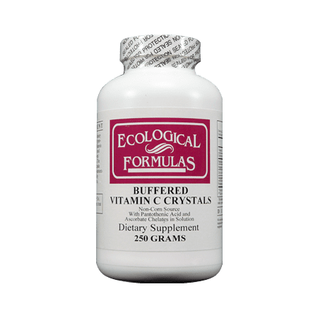 Ecological Formulas - Buffered Vitamin C Crystals - 250 - Buffered Crystals