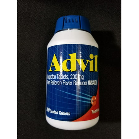 ADVIL Ibuprofen Tablets~{300} count 200mg coated