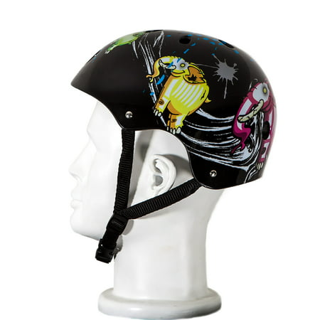 Plastic Pith Helmet (Punisher Skateboards Elephantasm Adjustable All-Sport Skate-Style Helmet,)