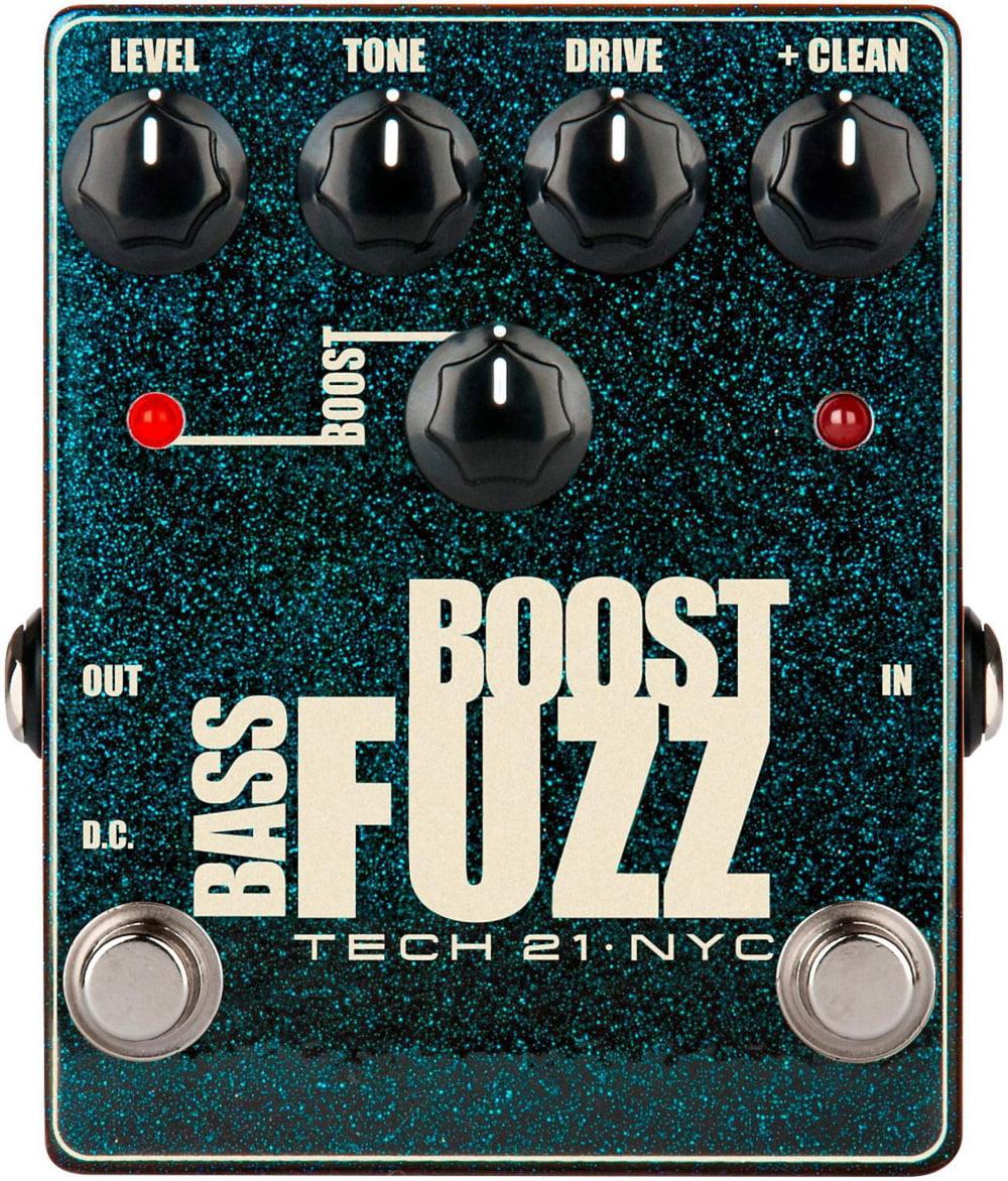 Tech 21 Bass Boost Fuzz Metallic Effects Pedal by Tech 21
