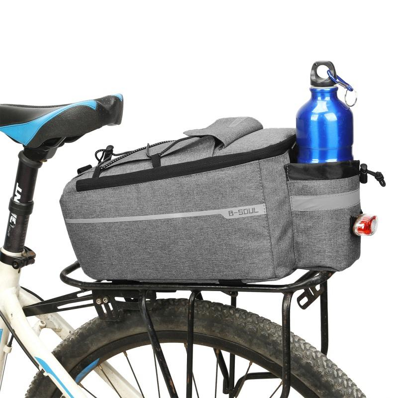 Bicycle Shoulder Bag Trunk Cooler Pack Cycling Rear Rack Storage Luggage Pouch