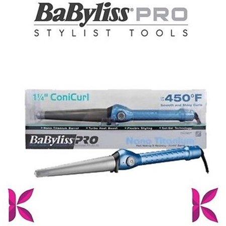 Babyliss Pro Nano Titanium 1 25   Conicurl Iron