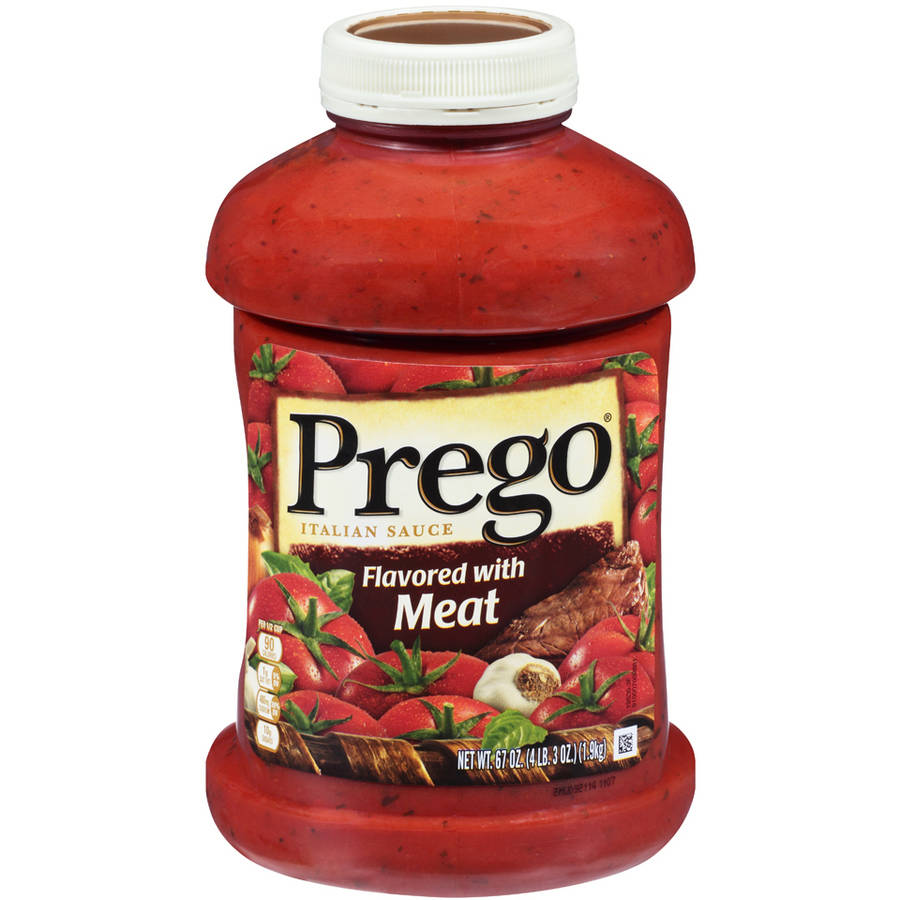 Prego Flavored with Meat Italian Sauce, 67 oz