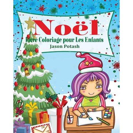 Noel Livre Coloriage Pour Les Enfants