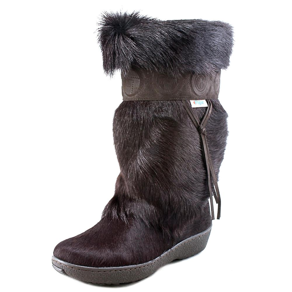 Pajar Olympic Women  Round Toe Suede Brown Winter Boot