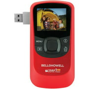 Bell+Howell Red T10hd 720p HD Take1HD Digital Video Camcorder with Flip-Out USB