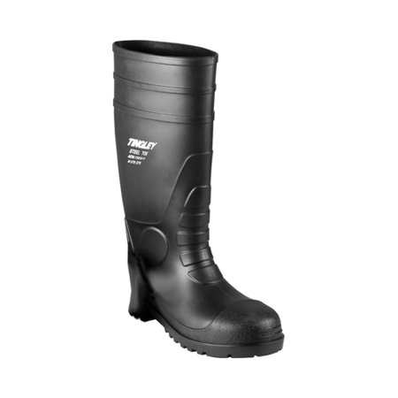Economy Pvc Plain Toe Boot (Men's 15 Economy PVC Boot Steel)