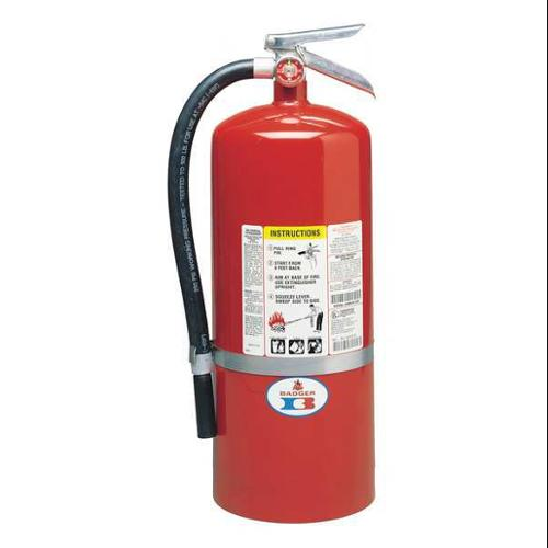 Badger 20 lb. Capacity, Fire Extinguisher, Dry Chemical, 20-MB-6H