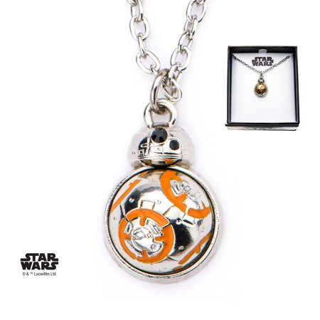 Star Wars Episode 8 BB8 Spin Flat Back and Spinning Body Pendant