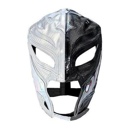 WWE Wrestling Rey Mysterio Replica Mask [Youth, Silver & Black] for $<!---->