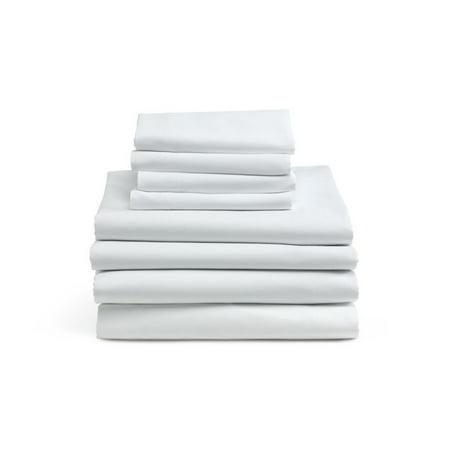 Cotton Cloud T130 Flat Sheets (1  Dozen)