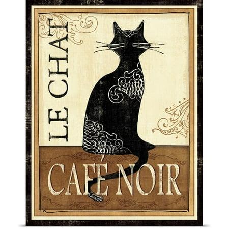 Great Big Canvas Veronique Charron Poster Print Entitled Le Chat
