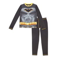Batman Poly Spandex Top and Pant Thermal Underwear Set, (Little Boys & Big Boys)