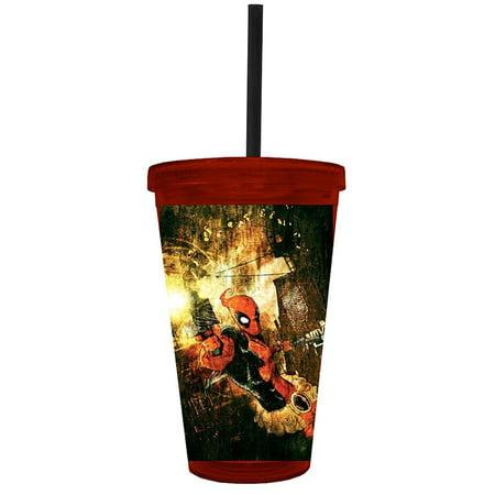 Marvel Deadpool Attack Carnival (Carnival Glass Cup)