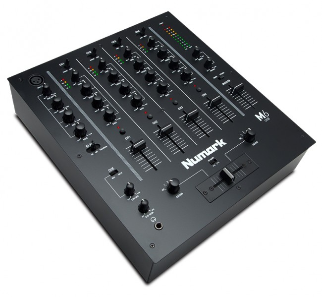 Numark M6USB BLACK 4 Channel DJ Club Mixer with USB