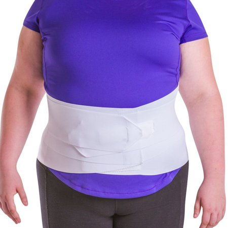 Lightweight Back Support - Women Relieve Back Pain Support Wrap Lightweight Athletic Slimming Belt Back Brace - XXL